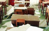 Sập trần phòng học ở miền Tây, 9 học sinh bị thương