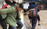 Cảm động người con U60 cõng mẹ già đi bộ 10km để chữa bệnh suốt 7 năm