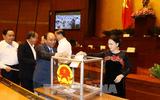 Bỏ phiếu kín phê chuẩn Tổng Thanh tra Chính phủ và Bộ trưởng Giao thông Vận tải