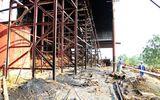 Cháy lớn tại Nhà máy đường, 100m băng tải chuyền bị thiêu rụi