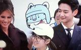 Đệ nhất phu nhân Melania Trump tươi tắn bên thần tượng xứ Hàn Choi Min-ho