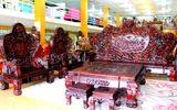 Cận cảnh những bộ bàn ghế tiền tỷ chưa chắc mua được của đại gia Việt