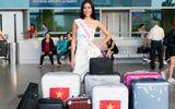 Nguyễn Thị Loan lên đường sang Mỹ dự thi Hoa hậu Hoàn vũ 2017