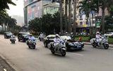 """Đội xe Yamaha FJR1300 P """"khủng"""" dẫn đoàn các nguyên thủ"""