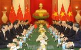 Tổng Bí thư Nguyễn Phú Trọng hội đàm với Tổng Bí thư, Chủ tịch nước Trung Quốc Tập Cận Bình