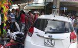 Lấy xe đang bị giam đi ra đường, tông liên hoàn 7 xe máy