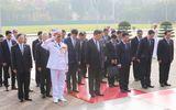 Chủ tịch Trung Quốc Tập Cận Bình viếng lăng Chủ tịch Hồ Chí Minh
