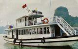 Đình chỉ hoạt động 2 tàu du lịch trên Vịnh Hạ Long do mắc nhiều sai phạm
