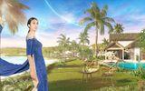 Choáng ngợp áo dài dát vàng giữa thiên nhiên Phú Quốc