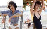 Tin tức giải trí - MC Thanh Mai khoe đường cong gợi cảm ở tuổi 45