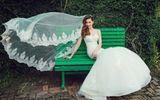 Hồ Ngọc Hà bất ngờ tung ảnh mặc váy cưới đúng dịp sinh nhật