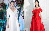 Phạm Hương, Đỗ Mỹ Linh đọ sắc trên thảm đỏ show thời trang