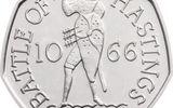 Đồng xu 50p được rao bán lên tới 60 tỷ đồng