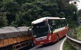 Vượt ẩu trên đèo Bảo Lộc, tài xế xe Thành Bưởi bị tước giấy phép