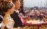 """Đám cưới """"khủng"""" của cặp đôi Đài Loan: Chi gần 3 tỷ đồng, bày 600 mâm cỗ giữa đường quốc lộ"""