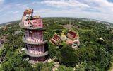 Thái Lan: Ngôi đền có rồng khổng lồ quấn quanh