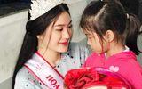 Hoa hậu Bình Minh trích tiền thưởng làm từ thiện giúp trẻ em nghèo