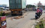 Xe container mất thắng lao nhanh trên đường, 2 người thương vong