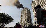 Video: Hỏa hoạn tại chung cư cao cấp ở Hà Nội