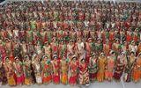 """""""Ông trùm kim cương"""" Ấn Độ chi tiền làm đám cưới cho 251 cặp đôi"""