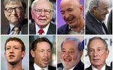 """Những người giàu nhất hành tinh """"bỏ túi"""" thêm 1.000 tỷ USD trong năm 2017"""