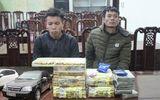 Hai cha con ôm 13kg ma túy từ Lào về Việt Nam