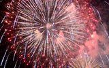 Màn pháo hoa rực sáng mừng năm mới 2018