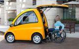 Mẫu xe hơi chuyên phục vụ cho người ngồi xe lăn