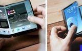 Hé lộ điện thoại Galaxy X gập đôi như cuốn sách