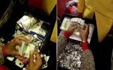 Bắt quả tang nữ tiếp viên Ấn Độ mang nửa triệu USD trên máy bay