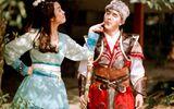 Cặp đôi Ưng Hoàng Phúc - Kim Cương hóa thân thành nhân vật kiếm hiệp Kim Dung
