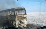 Xe buýt cháy rụi ở Kazakhstan, 52 người thiệt mạng
