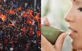 Tin tức - Các cách làm giảm rát họng không cần dùng thuốc sau cổ vũ trận đấu U23 Việt Nam