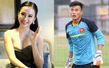 Sau khi khiến fan nữ lo sợ, Angela Phương Trinh khẳng định lại mối quan hệ với thủ môn Tiến Dũng