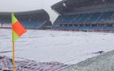 Tuyết lại rơi dày đặc ở Thường Châu, thách thức U23 Việt Nam