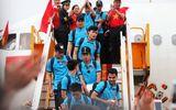 Những hình ảnh đầu tiên của các cầu thủ U23 tại Nội Bài