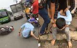 Video: Màn rượt đuổi như phim hành động bắt gọn tên cướp xe SH
