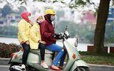 Người đi xe máy dễ bị ốm do mắc sai lầm này