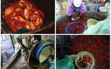 Đỏ rực chợ cá chép lớn nhất Thủ đô trước ngày ông Táo