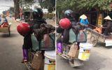 Video: Thót tim cảnh chồng chở vợ ngủ gật trên xe máy