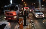 Trạm BOT cầu Rạch Miễu tạm ngưng thu phí giữa đêm