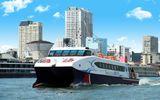Khai trương tàu cao tốc Sài Gòn - Cần Giờ - Vũng Tàu dịp cận Tết Nguyên đán