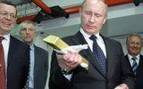 Kho vàng dự trữ hơn 1.800 tấn dưới thời Tổng thống Putin