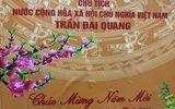 Chủ tịch nước Trần Đại Quang chúc mừng năm mới BV Đại học Y