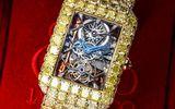 Tin tức - Cận cảnh chiếc đồng hồ nạm 127,45 carat kim cương