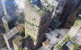 Ăn - Chơi - Người Nhật dự định xây nhà chọc trời bằng gỗ thế nào