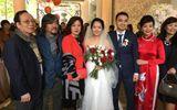 Chuyện làng sao - Con gái nhạc sĩ Đỗ Hồng Quân - NS Chiều Xuân rạng rỡ trong đám cưới