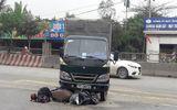 Nghệ An: Xe tải tông xe máy, 1 người bị thương nặng