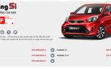 Bảng giá xe ô tô KIA mới nhất tháng 3/2018 tại Việt Nam