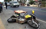 Trích xuất camera, truy tìm xe va chạm với môtô khiến nam phượt thủ tử vong